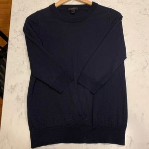 Navy blue tippi sweater